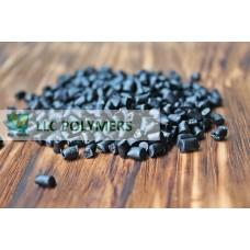 Вторичная гранула ПЭНД (полиэтилен низкого давления) для экструзии. ПЭНД выдувной. Цвет черный
