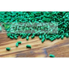 Полипропилен. Цвет зеленый