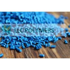 Вторичный Полипропилен. Цвет синий