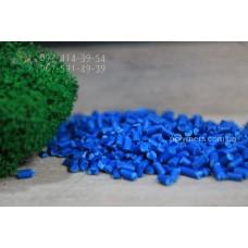 Полистирол вторичный (УПМ). Цвет синий