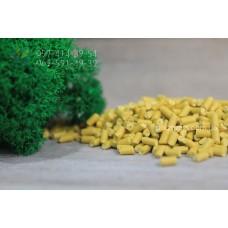 Полистирол вторичный (УПМ). Цвет желтый